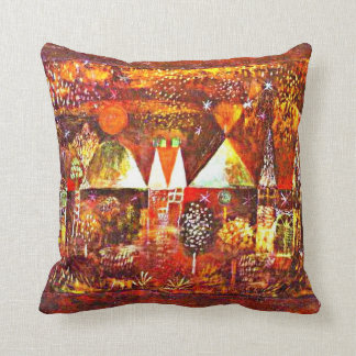 Paul Klee - Nocturnal Festivity Cushion