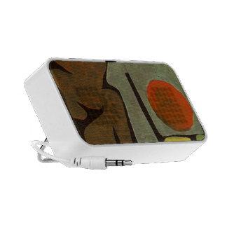 Paul Klee- Park of idols Notebook Speakers