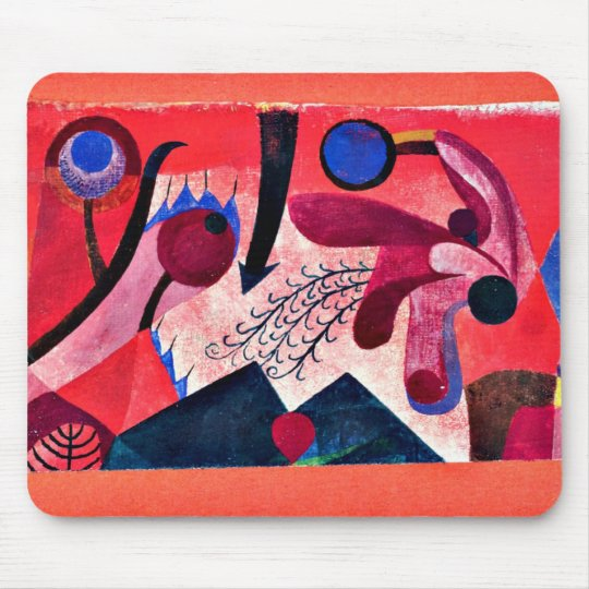 Paul Klee: Poisonous Berries Mouse Mat
