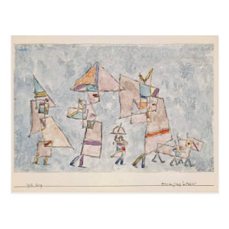 Paul Klee- Promenade in the Orient Postcard