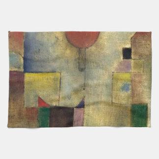 Paul Klee Red Balloon Tea Towel