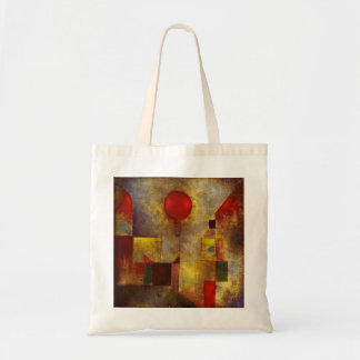 Paul Klee Red Balloon Tote Bag