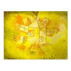 Paul Klee: Revolving House Postcard