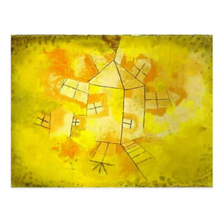 Paul Klee: Revolving House Postcard