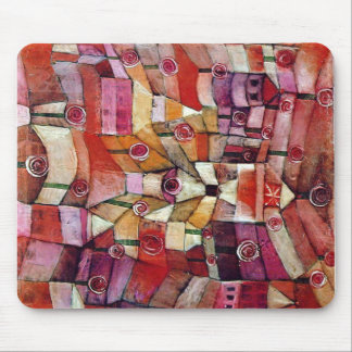 Paul Klee - Rose Garden Mouse Pad
