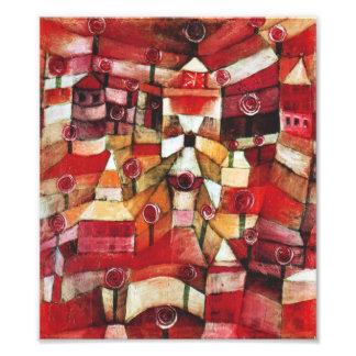 Paul Klee Rose Garden Print
