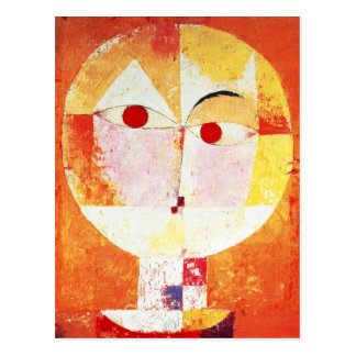 Paul Klee Senecio Postcard