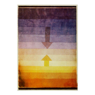 Paul Klee Separation in the Evening Poster