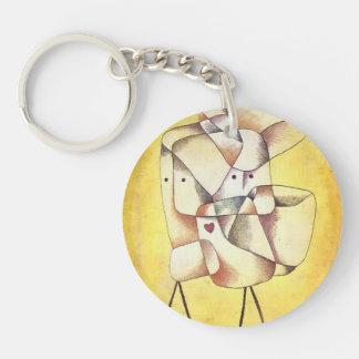 Paul Klee- Siblings Keychains