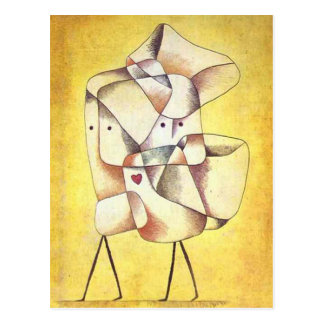 Paul Klee - Siblings Postcard