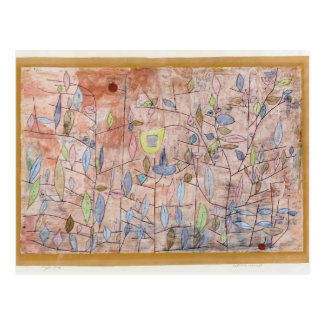 Paul Klee- Sparse foliage Post Cards
