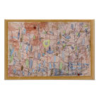 Paul Klee- Sparse foliage Poster