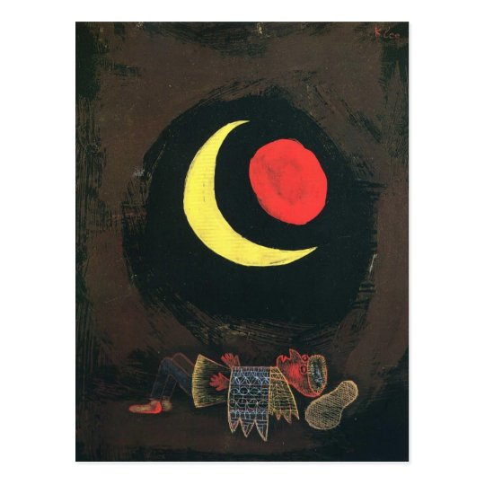 Paul Klee- Strong Dream Postcard