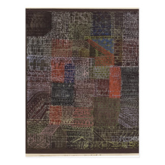 Paul Klee- Structural II Post Card