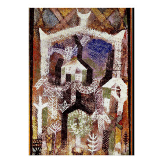 Paul Klee - Summer Houses Poster