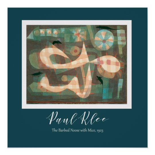 Paul Klee - The Barbed Noose With The