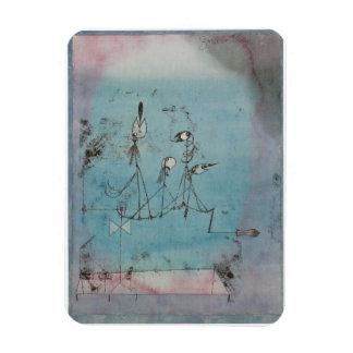 Paul Klee Twittering Machine Magnet