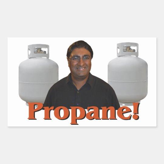 Paul Lall - Propane Sticker! Rectangular Sticker