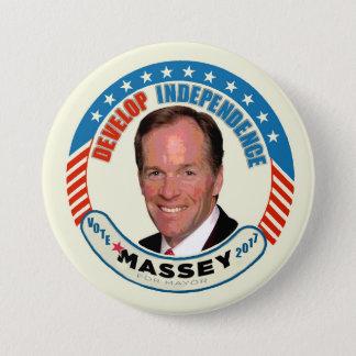 Paul Massey for NYC Mayor 7.5 Cm Round Badge