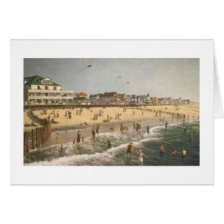"""Paul McGehee """"An Ocean City Memory"""" Card"""