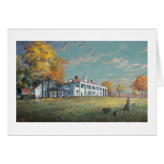 "Paul McGehee ""Autumn at Mount Vernon"" Card"