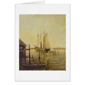 "Paul McGehee ""Boothbay Harbor"" Card"