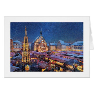 "Paul McGehee ""Christkindlesmarkt"" Note Card"