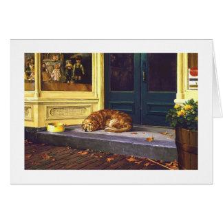 """Paul McGehee """"Faithful Companion"""" Card"""