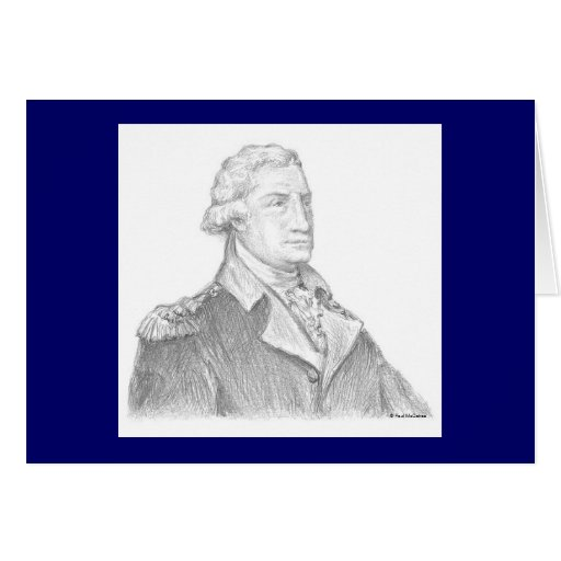 "Paul McGehee ""George Washington"" Card"
