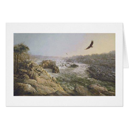 "Paul McGehee ""Great Falls of the Potomac"" Card"