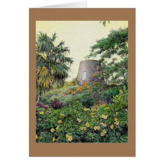 "Paul McGehee ""Nevis - Golden Glow"" Card"