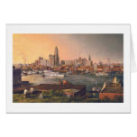 """Paul McGehee """"Old Baltimore Harbour"""" Card"""