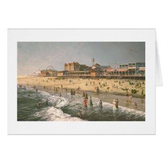 """Paul McGehee """"Old Ocean City"""" Card"""
