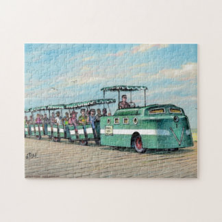"Paul McGehee ""The Boardwalk Train"" Jigsaw Puzzle"