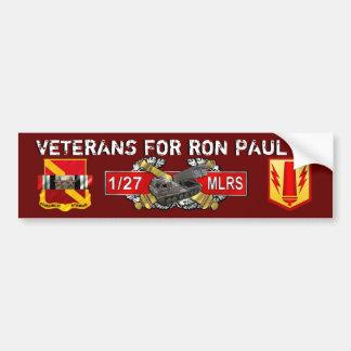 Paul MLRS FA 21Nov2011 2 Bumper Sticker