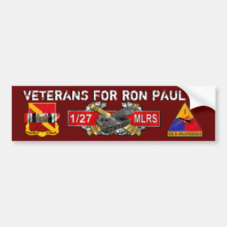 Paul MLRS FA 21Nov2011 Bumper Sticker