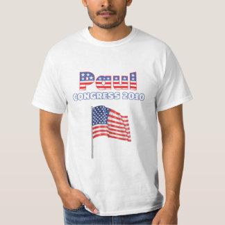 Paul Patriotic American Flag 2010 Elections Shirts
