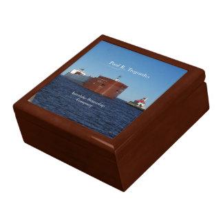 Paul R. Tregurtha Duluth keepsake box