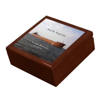 Paul R. Tregurtha keepsake box