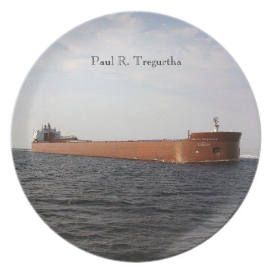 Paul R. Tregurtha plate