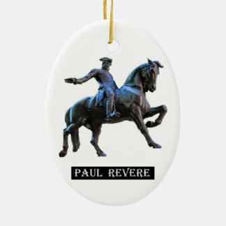 Paul Revere (Massachusetts) Ceramic Oval Decoration
