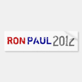 PAUL, RON, 2012 BUMPER STICKERS