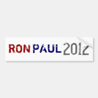 PAUL, RON, 2012 BUMPER STICKER