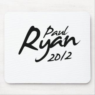 PAUL RYAN 2012 Autograph Mouse Pad