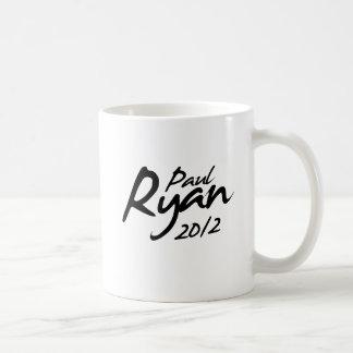PAUL RYAN 2012 Autograph Coffee Mug