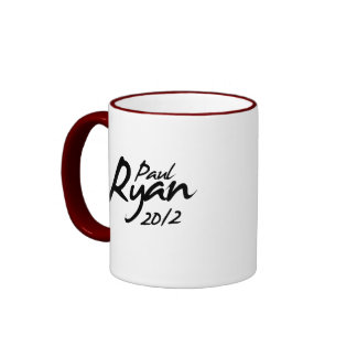 PAUL RYAN 2012 Autograph Mug