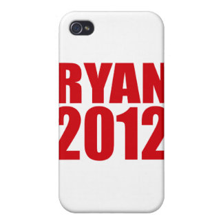 PAUL RYAN 2012 (Bold) Cases For iPhone 4