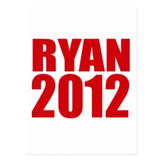 PAUL RYAN 2012 Bold Post Cards