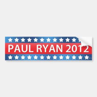 Paul Ryan 2012 Bumper Sticker