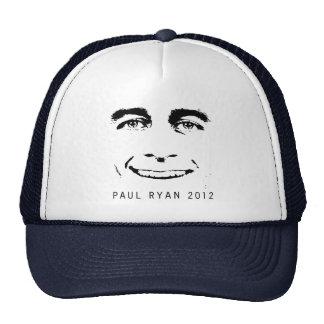 PAUL RYAN 2012 FACE.png Trucker Hats